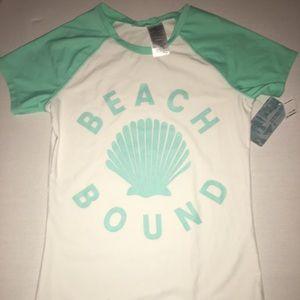 Beach bound swim shirt!